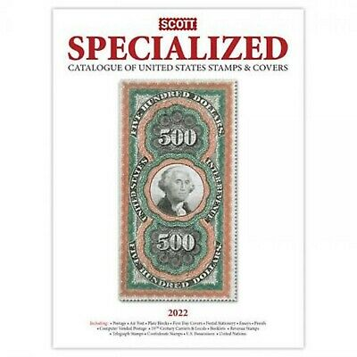 2019 NEW Scott Standard Postage Stamp Catalogue US Specialized Stamps & Covers