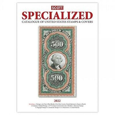2020 NEW Scott Standard Postage Stamp Catalogue US Specialized Stamps & Covers
