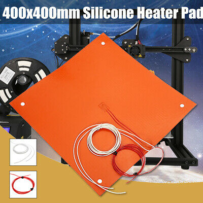 15-1000W 110V 220V Silicone Heated Pad 3D Printer Heater Bed Heating Mat
