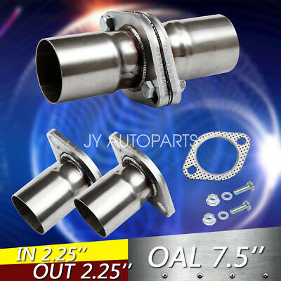 """FX38 2 5//8/"""" 2.625/"""" Exhaust Split Flange Formed Oval For 2 1//2/"""" 2.5/"""" Flared Pipe"""