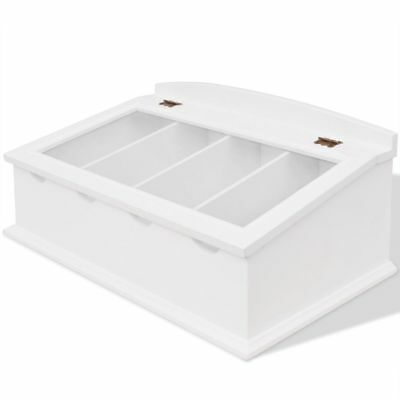 Cutlery Tray MDF White Baroque Style L3P1