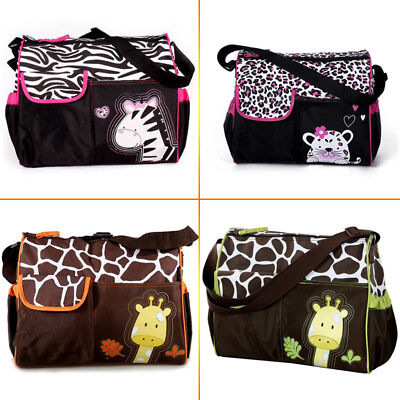 Latest Waterproof Baby Diaper Nappy Mummy Changing Handbag Shoulder Bag with Mat