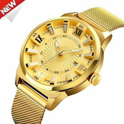SKMEI 9166 Multifunctional Waterproof Watch Fashion Exquisite Men's Watch FH