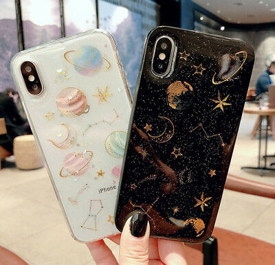 Luxury Bling Glitter Shockproof Case Star sky Cover For iPhone XR XS Max XS 7 8