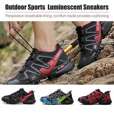 Men's Running Shoes Speed 3 Athletic Outdoor Sports Hiking Sneakers FH
