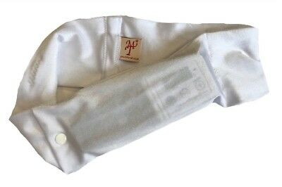 Parkinson's Disease Waist band Pouch / Case White