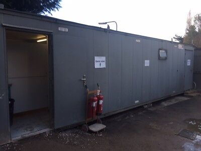 Site cabins for sale - 2 Site offices, 2 Toilet blocks, Canteen and shower block