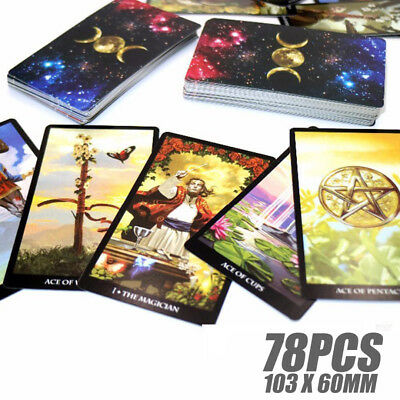 Tarot Deck 78 Card Set 2018 Most popular Mythic Fate Divination For Fortune Game