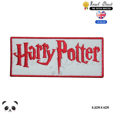 Harry Potter Movie Comics Embroidered Iron On Sew On PatchBadge For Clothes etc
