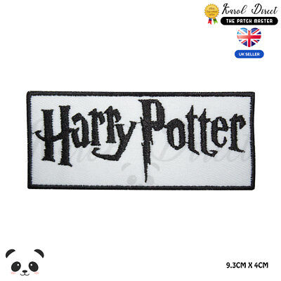 Harry Potter Embroidered Iron On Sew On PatchBadge For Clothes etc