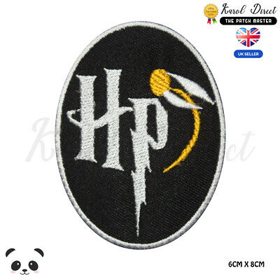Harry Potter Quiddich Embroidered Iron On Sew On PatchBadge For Clothes etc