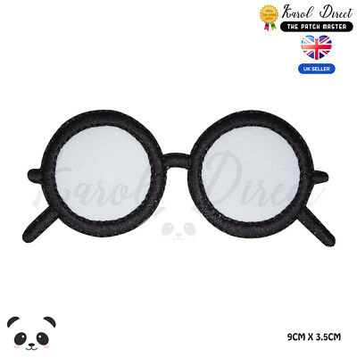 Harry Potter Glasses Embroidered Iron On Sew On PatchBadge For Clothes etc