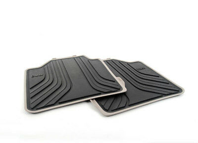 New Genuine BMW F34 GT Rear Modern Line All Weather Floor Mats 2311216 OEM