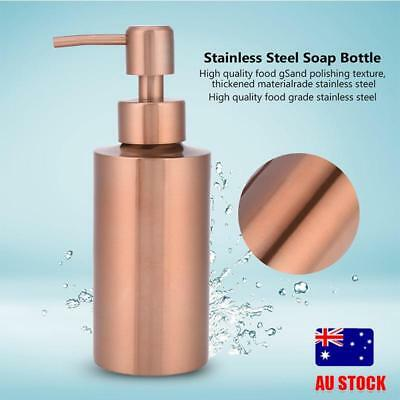Stainless Steel Pump Soap Lotion Dispenser Liquid Bottle Tool Kitchen Bathroom