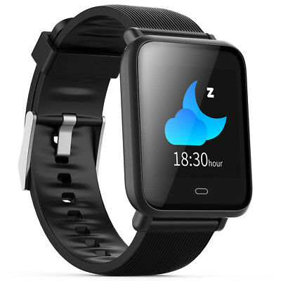 Q9 Sports Smart Watch Real-Time Blood Pressure Tracker Remote Camera Bluetooth