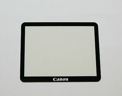 Canon EOS-40D EOS-50D LCD Display Screen External Glass Cover Replacement Part