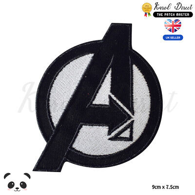 Avengers Super Hero Badge Embroidered Iron On Sew On PatchBadge For Clothes etc