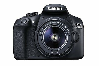 Canon EOS 1300D Digital SLR Camera Kit w/ EF-S III 18-55mm