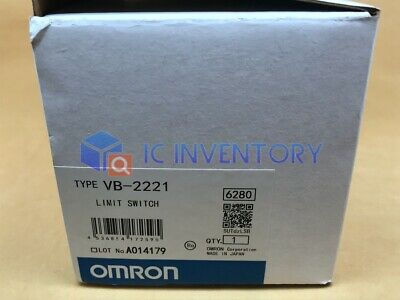 1PCS Omron Limit Switch VB-2221 New In Box