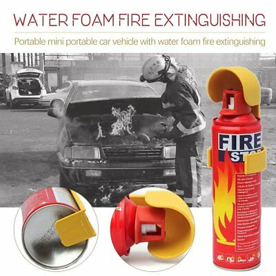 Powder Fire Extinguisher Car / Home / Van / Caravan Compact & Portable 6N