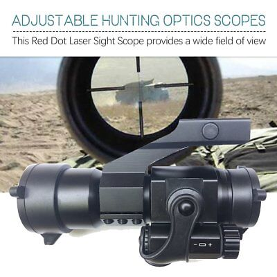 Adjustable Scope Red Dot Sight Hunting Optics Scopes Tactical Gun Accessories FH