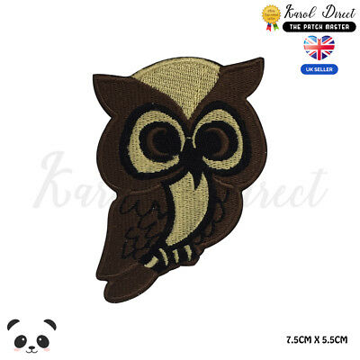 Harry Potter Owl  Embroidered Iron On Sew On PatchBadge For Clothes Bags etc