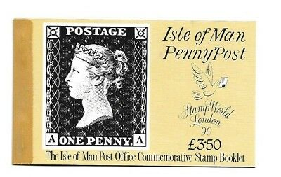 Isle of Man - Booklet - Penny Post - 1990 - £3.50 booklet