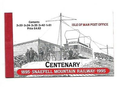 Isle of Man - Booklet - Cent of Snaefell Railway - 1995 - £4.63  booklet