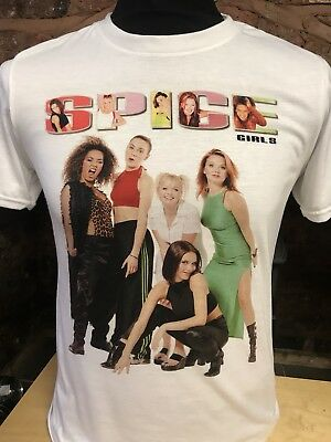 Spice Girls T-Shirt. men's women's sizes S-XXL. 90s Vintage Tour Reunion 2019