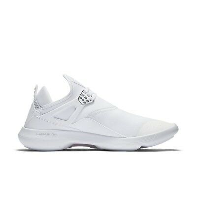 af4efc6f32ca NIKE AIR JORDAN FLY ´89 Gr. 45 US 11 White White Chrome 940267 100 ...