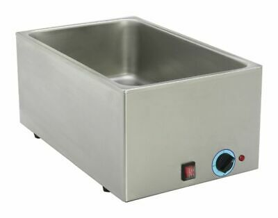 Bain-Marie without Drain Tap, 630x370x250 mm Water Bath Food Warmer Warm Keeping