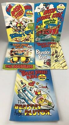 THE BASH STREET KIDS 5 Issues - A Beano Special No. 6, 12, 14, 16, 26