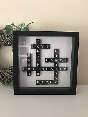 Birthday Anniversary Frames Gifts Wall Art Black And White Valentine's Day Gifts