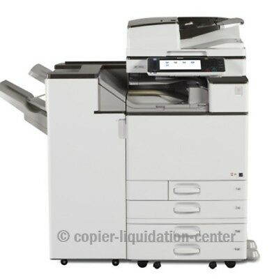 Ricoh MPC5503 Color Copier, Printer, Scanner, 45 ppm - Meter - Ultra Very Low.