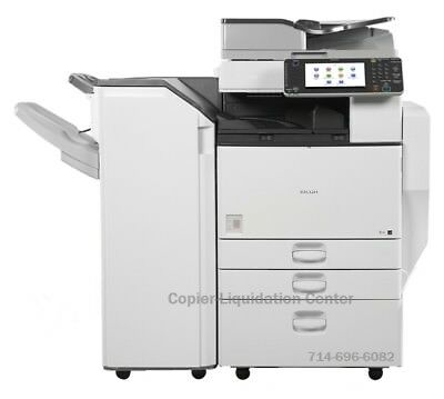 Ricoh MP C4502, MPC4502 Color Copier with finisher Speed 45 ppm,  low meter m
