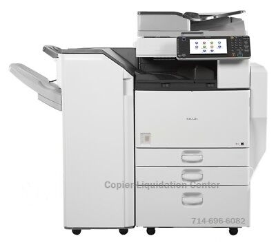 Ricoh MPC5502,MP C5502 Color tabloid copier, Finisher Speed 55 ppm, h