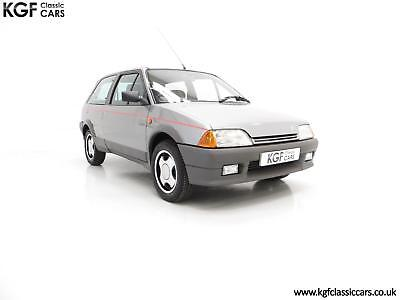 A Super Rare Phase 1 Citroen AX GT with 29,577 Miles and Totally Preserved.