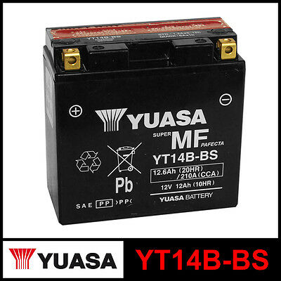 Battery [Yuasa] Yt14B-Bs (12 Volt/12 Ampere) Sealed Enabled