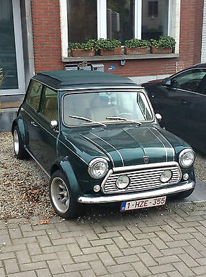 Die DeLuxe Verdeck-MINI Classic British Open mit Faltdach - Open Roof (Soft Top)