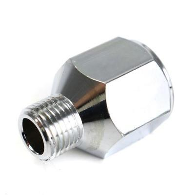 Airbrush Hose Adaptor Fitting 1/4 Inch BSP Female to 1/8 Inch BSP Male Connector