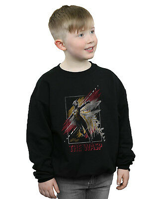 Marvel Jungen Ant-Man And The Wasp Framed Wasp Sweatshirt