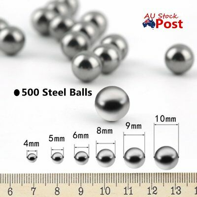 50/250/500PCS Replacement Parts 4/5/ 6/10mm Bike Bicycle Steel Ball Bearing AJ
