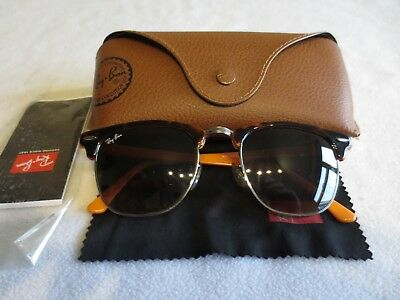 1a91ab675bf Ray Ban Colour mix brown Clubmaster sunglasses. With case. RB 3016 1126 85