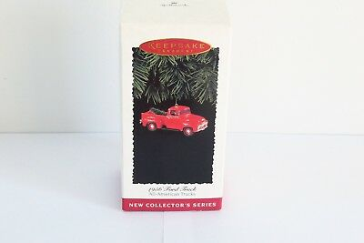 Hallmark Ornament 1995 1956 Ford Truck #1 In Series All-American Trucks Nib