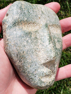 Rare MEZCALA Mask, Precolumbian, Mayan Aztec Olmec MAKE AN OFFER jade