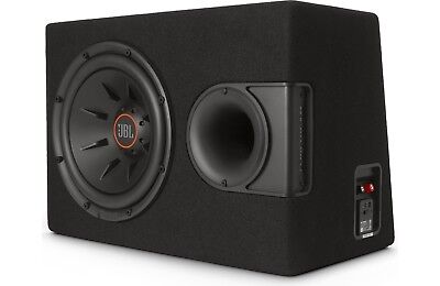 """JBL S2-1224SS 12"""" Ported Enclosure with Built-In 12"""" S-1224 Subwoofer"""