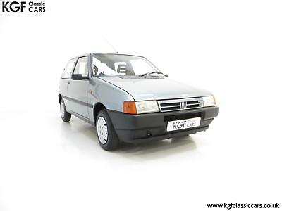 An Italian Super Chic Fiat Uno 45 Fire with One Former Keeper and 21,981 Miles.
