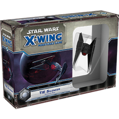 Star Wars X-Wing Miniatures Game: The Last Jedi - TIE Silencer Expansion Pack