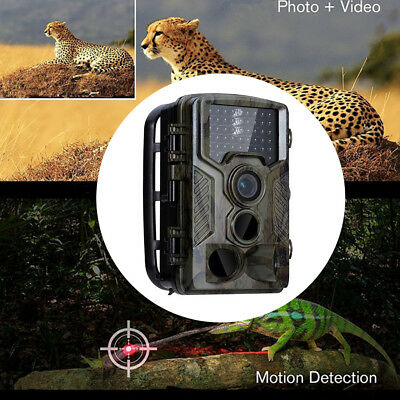 HK- 16MP HD Hunting Trail Camera PIR IR LED Motion Activated Security Wildlife G