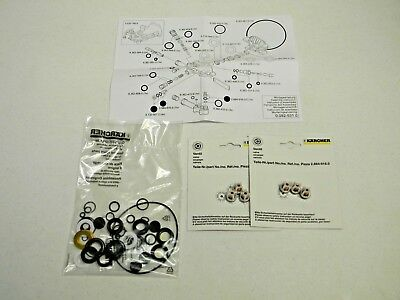 Karcher 2.884-215.0 Pressure Washer Pump Seal Kit Rebuild Repair Set Complete